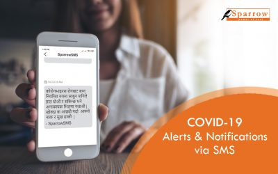 Use Bulk SMS to share Covid-19 Alerts and Notifications